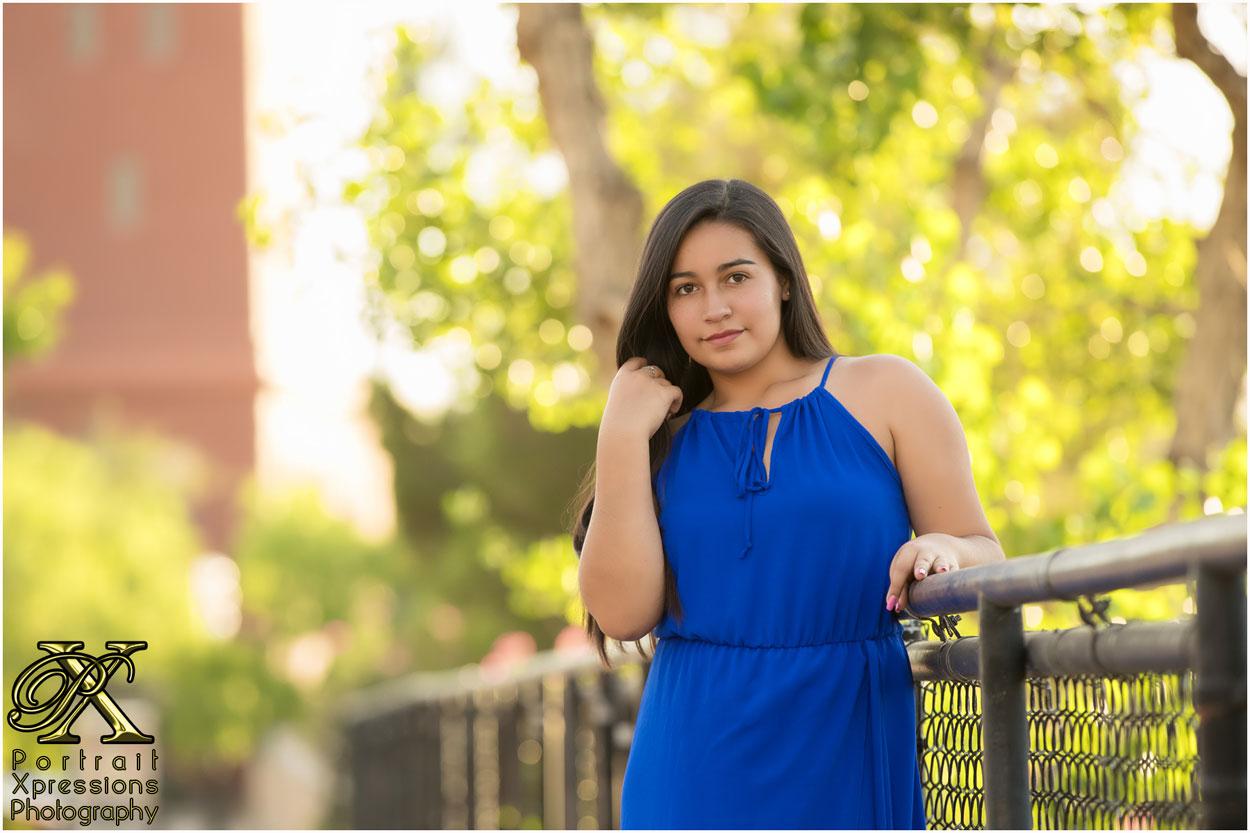 high school senior portraits in El Paso