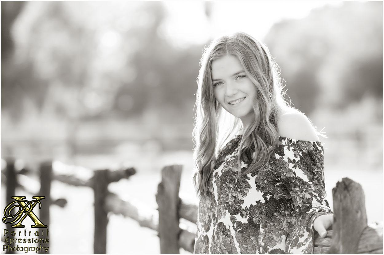high school senior photo shoot