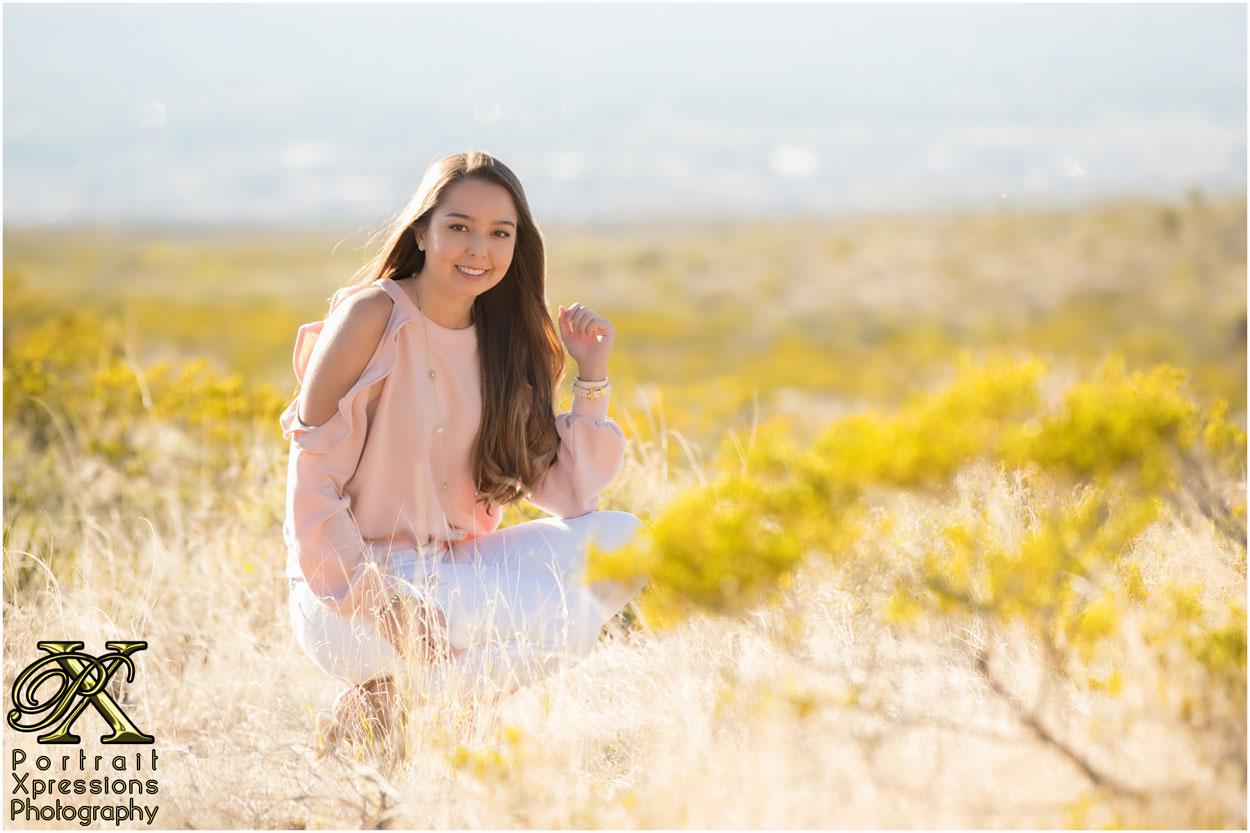 El Paso high school senior photography