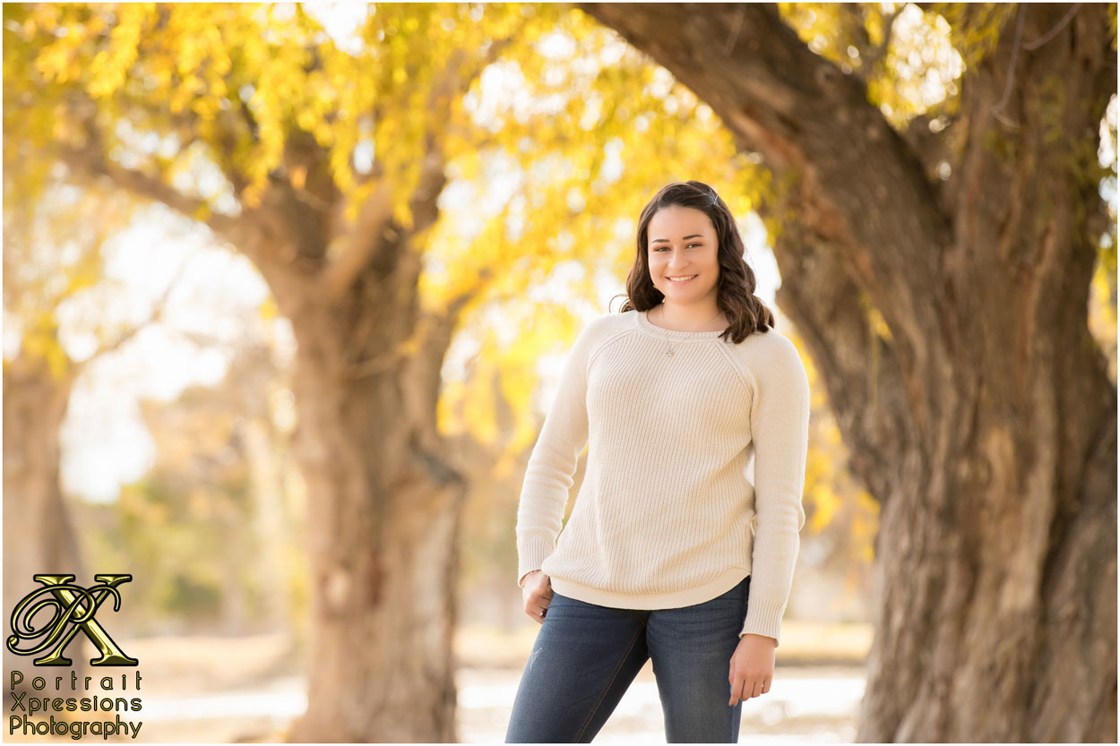 photography of high school senior in El Paso