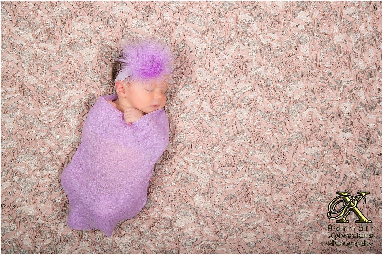 newborn baby portraits in El Paso