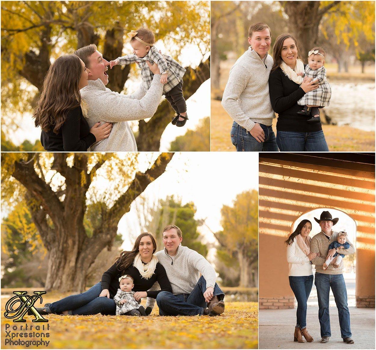 El Paso family portraits