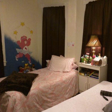 Even kids have a room of their own.
