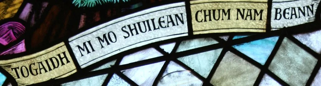 Image: Portree Parish Church Stained glass window