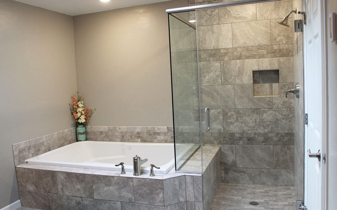 Bathroom remodel  Master Bathroom Remodel  Custom Tile