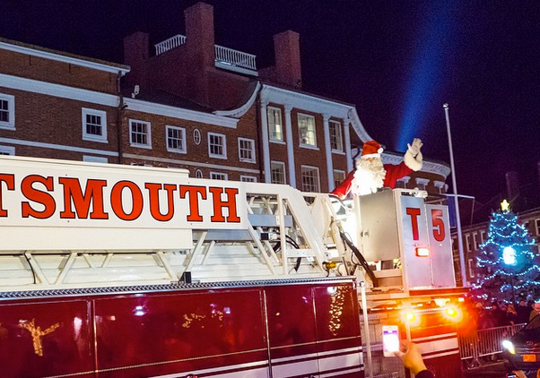 portsmouth nh santa