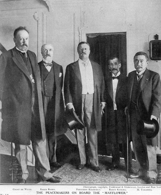 Witte w/ Roosevelt & Komura & co.