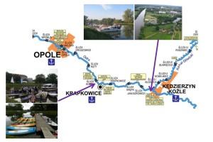 Odcinek 2: Kędzierzyn Koźle – Krapkowice – Opole