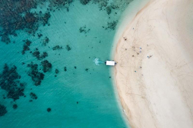 mackay cay aerial photography