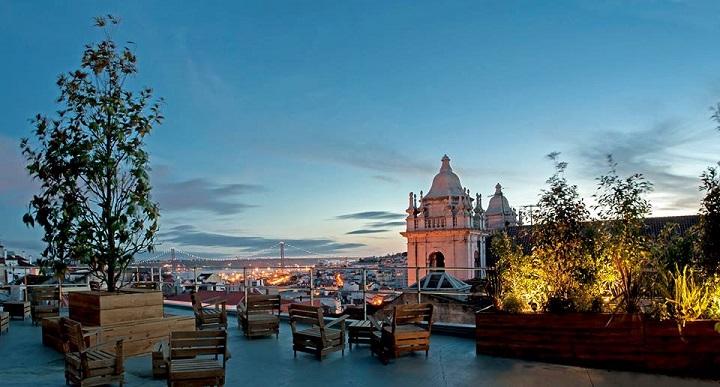 Park Restaurant  Bar  Elevated Garden Terrace Rooftop in Lisbon  Portugal Confidential