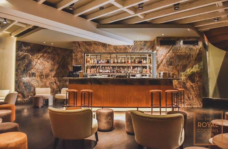 The Royal Cocktail Club  Drinks Fit for a King in Porto