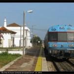 Linha do Algarve sem correção de traçado mas com material elétrico