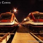 Primeiro ensaio de um Alfa Pendular na linha de Guimarães