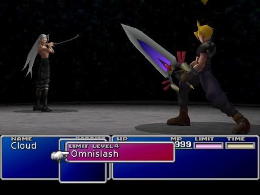 Cloud e Sephiroth, rivais eternos de Final Fantasy VII