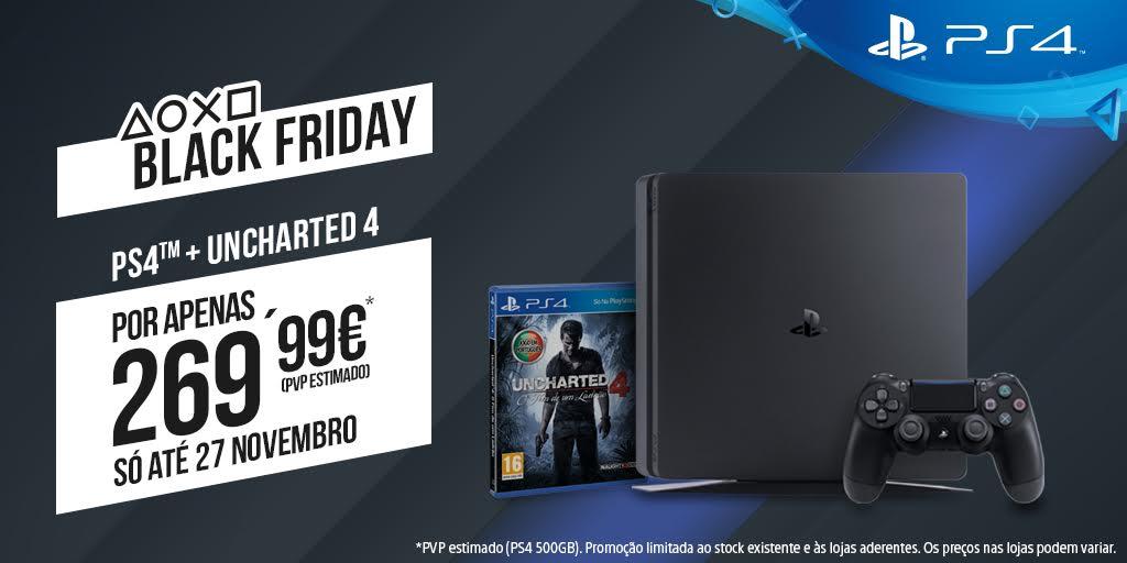 A melhor Black Friday de sempre na PlayStation®