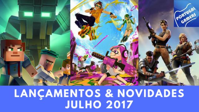 Vídeo: Lançamentos de jogos – Julho de 2017
