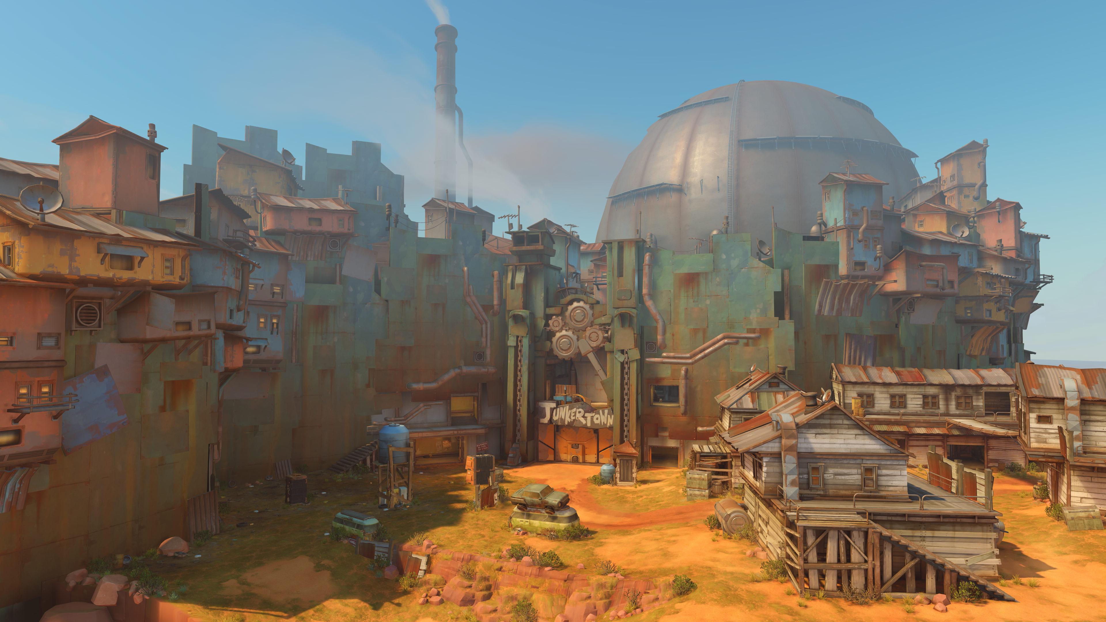 Novo mapa revelado para Overwatch