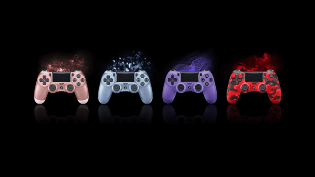 PlayStation revela 4 novas cores do comando sem fios DUALSHOCK 4