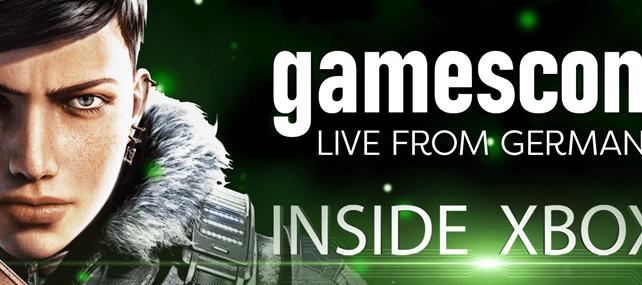 Inside Xbox está de regresso na Gamescom