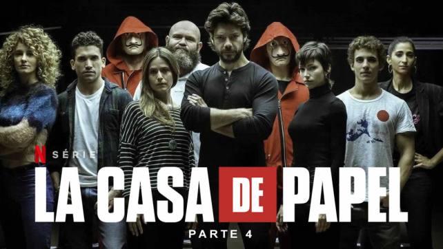 La Casa de Papel Parte 4 estreia em abril de 2020 na Netflix