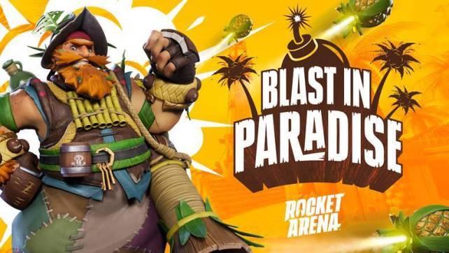 Rocket Arena Blast In Paradise Event Live já arrancou