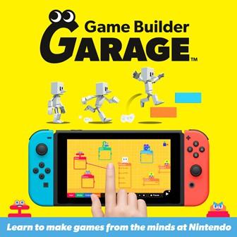 Game Builder Garage disponível exclusivamente para a Nintendo Switch