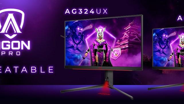 Novos monitores AGON PRO para esports com HDMI 2.1 e 1 ms GtG