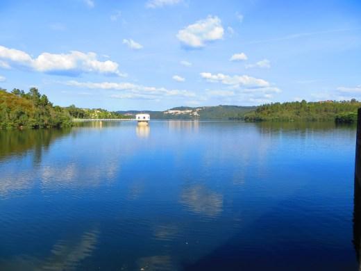 the reservoir castelo do Bode