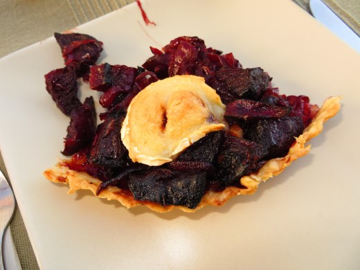The warm weather inspired me to try out some summery recipes. This beetroot and goats cheese tart scored ....