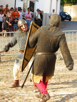 I went to a mock fight. Part of the Gois 900 years old celebration