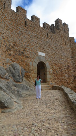We also went to the castle of Almoural