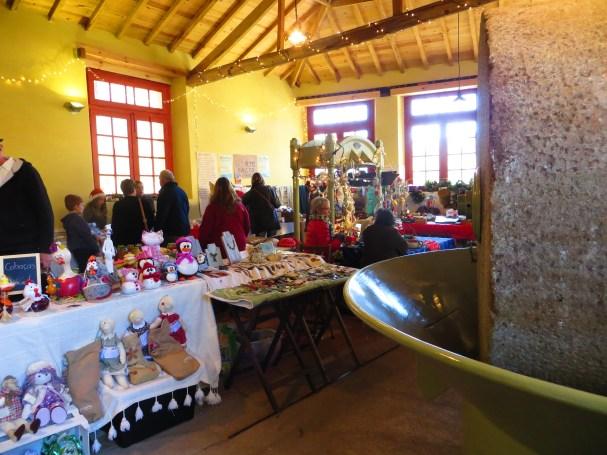 A xmas market