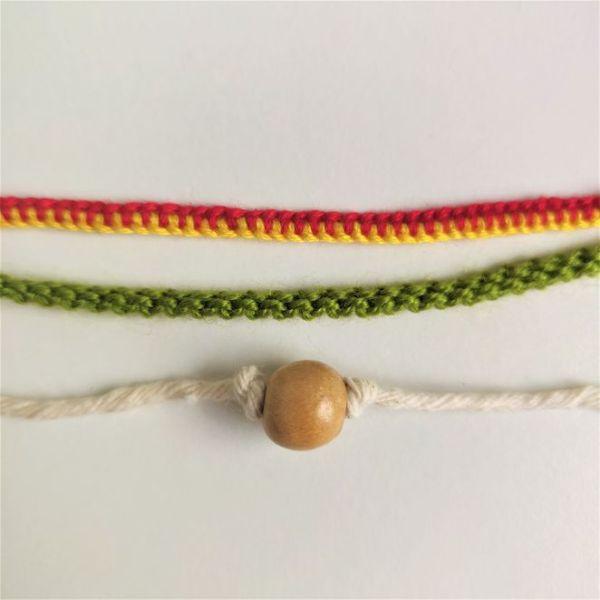 Handmade solidarioty bracelets