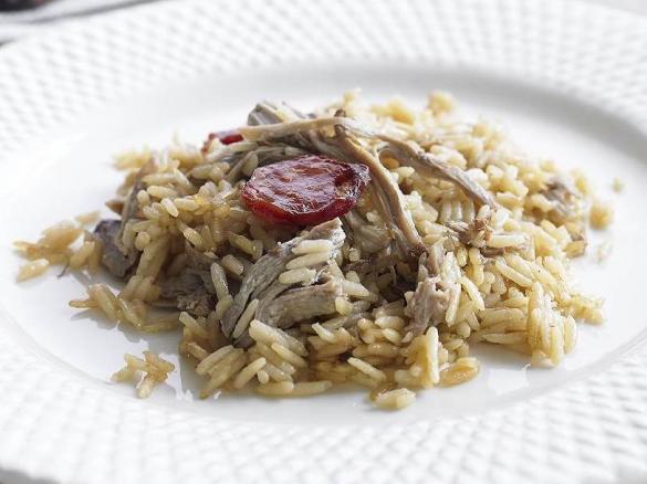Duck rice portuguese recipe