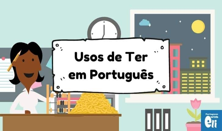 using the portuguese verb ter
