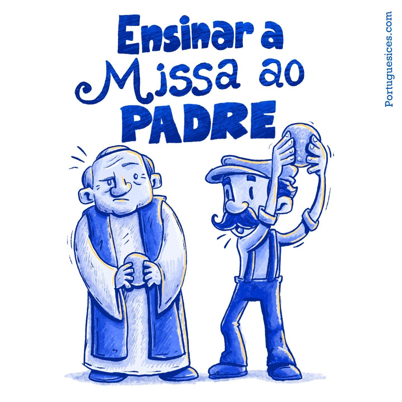 Ensinar a missa ao padre