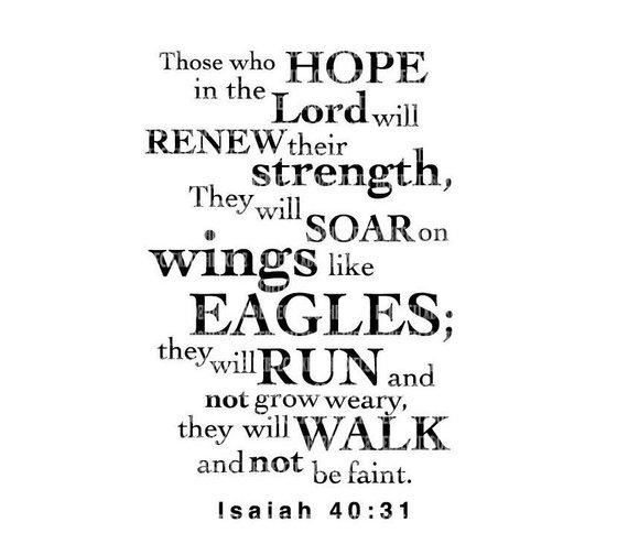 Renewed in Strength
