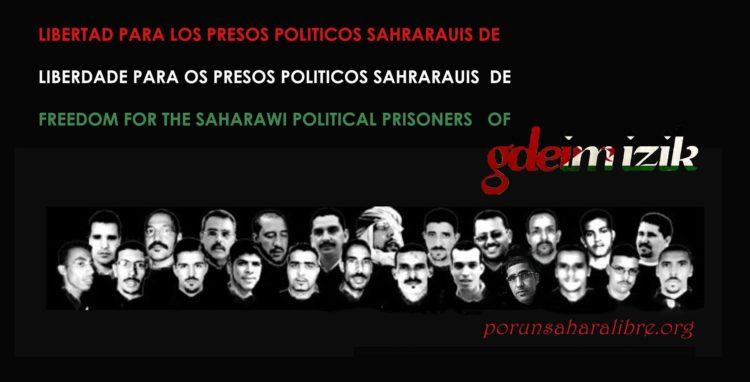 Manifestaciones por la libertad de los presos politicos saharauis