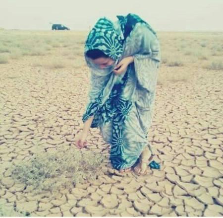 joven saharaui