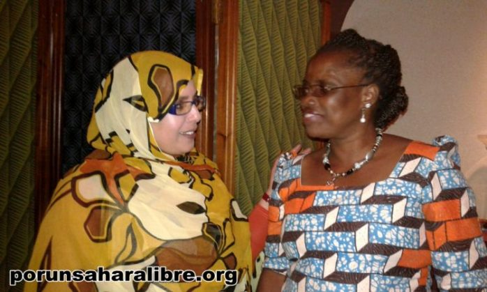 Mujeres sahara mozambique