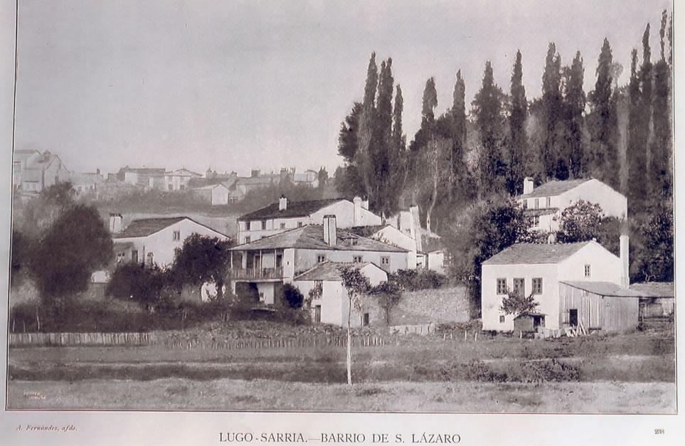sarria barrio de san lazaro