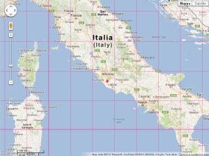 PosMap - World map with latitude & longitude