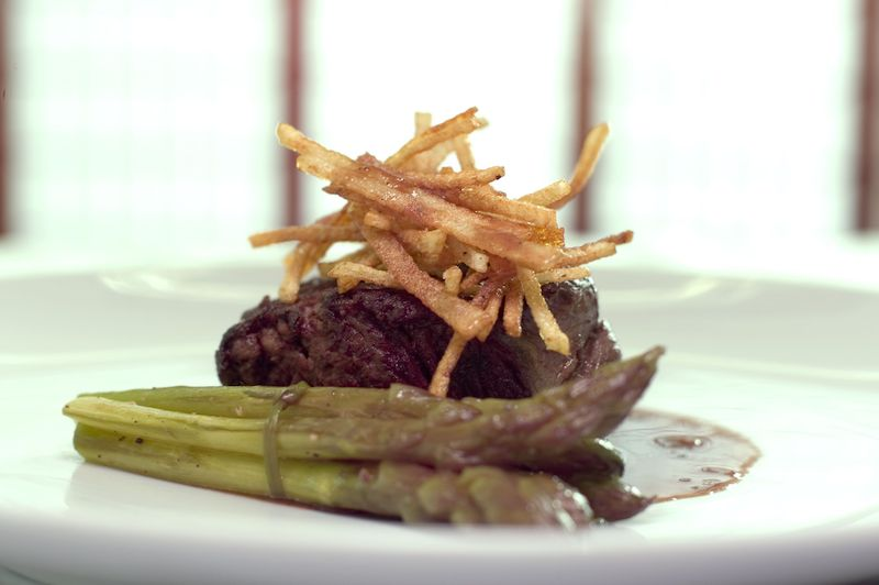 Neuste Gastro Trends Speisenprsentation in der