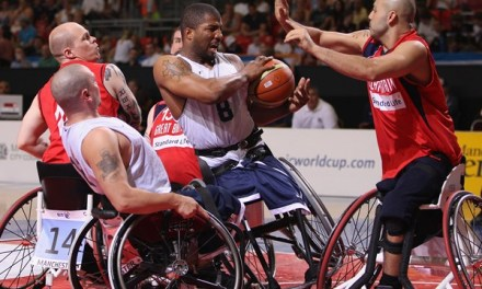 Heartbreak for Wheelchair Basketball