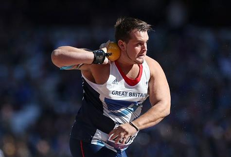 Davies Gets Bronze In Shot Put