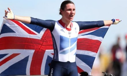Sarah Storey Golden Girl