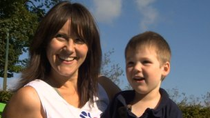 Great North Run for mother whose son cannot walk