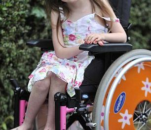 Girl, 4, is so fragile even a gust of wind can knock her over, due to rare genetic condition