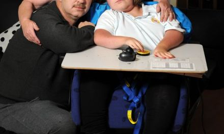 Parents of severely disabled girl see respite care benefit cruelly cut because she can talk