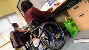 Work test centres 'lack disabled access'